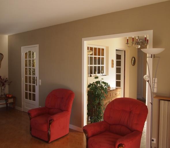Peinture d int rieur cologique le blog de l 39 entreprise - Photo peinture interieur maison ...